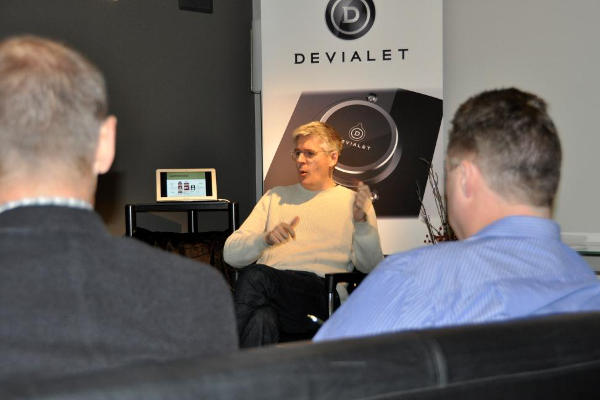 Andy Kennard of Devialet discussing where Devialet is headed...