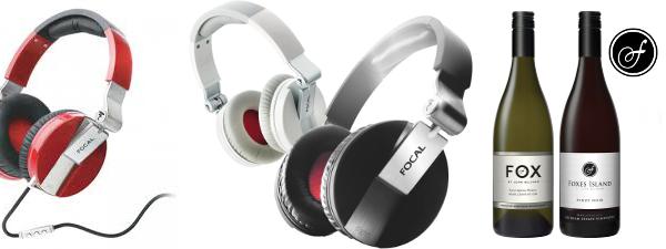 Focal Headphones & Foxes Island Wine Promotion