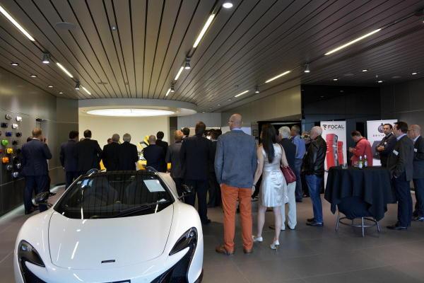 McLaren present the P1...